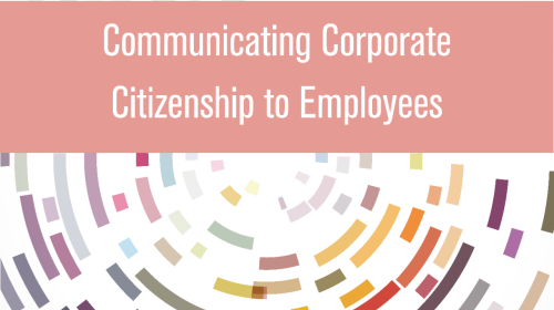 KnowledgeProduct-CommunicatingCorporateCitizenshiptoEmployees