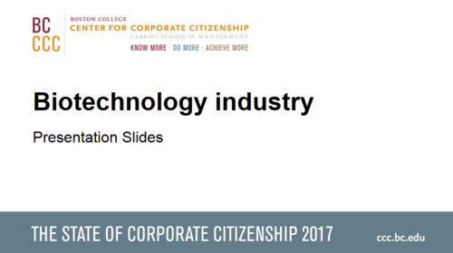 StateofCorporateCitizenship2017_Biotechnology_Members