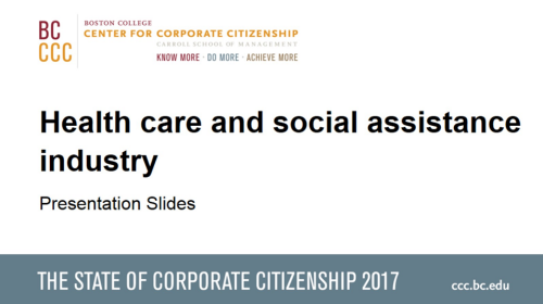 StateofCorporateCitizenship2017_Healthcaresocialassistance_Members