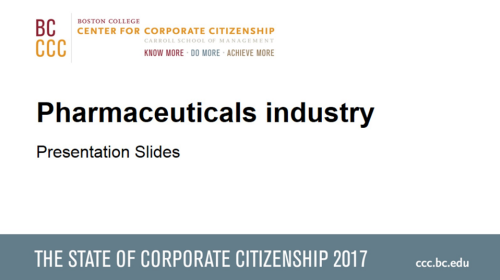 StateofCorporateCitizenship2017_Pharmaceuticals_Members