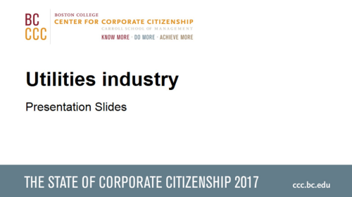 StateofCorporateCitizenship2017_Utilities_Members
